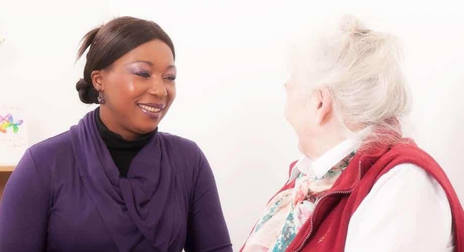 Elderly caregiving