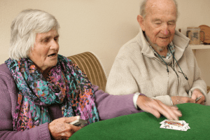 forced into a care home