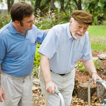 caring for the elderly parent