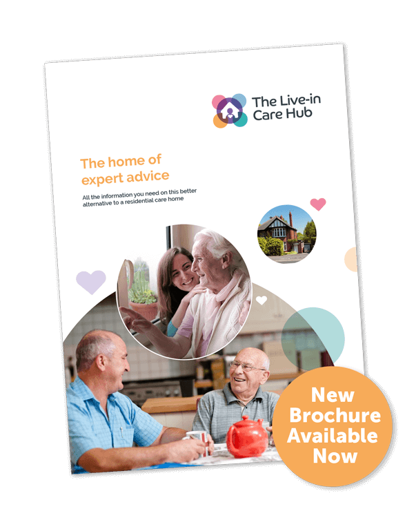 live in care hub brochure front