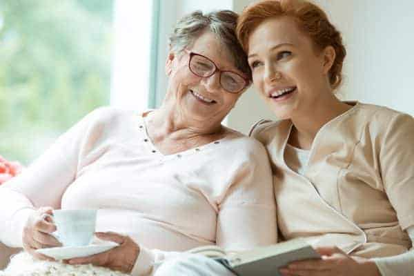 live-in care - alternative to care home