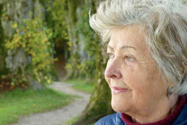 woman living with dementia