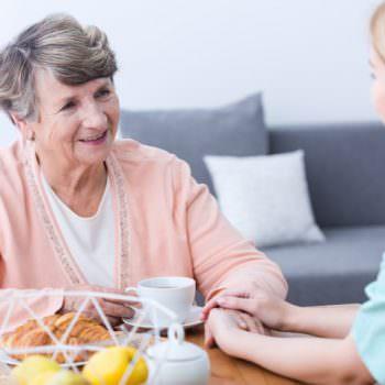 job as an elderly carer