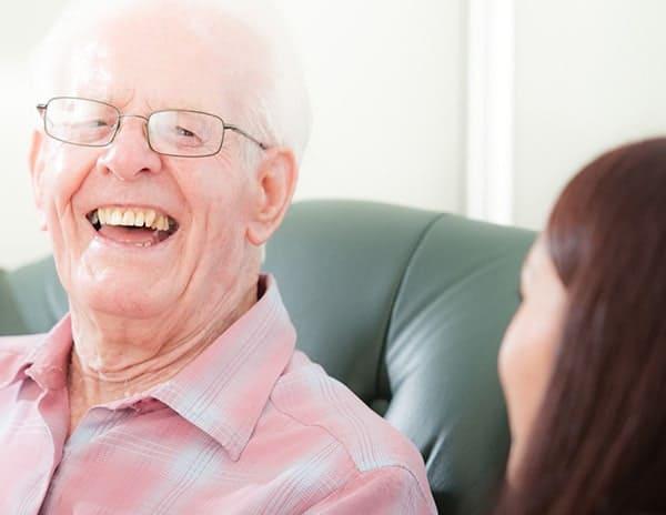 domicilary care for elderly people