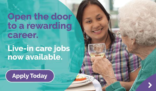 career in live-in care