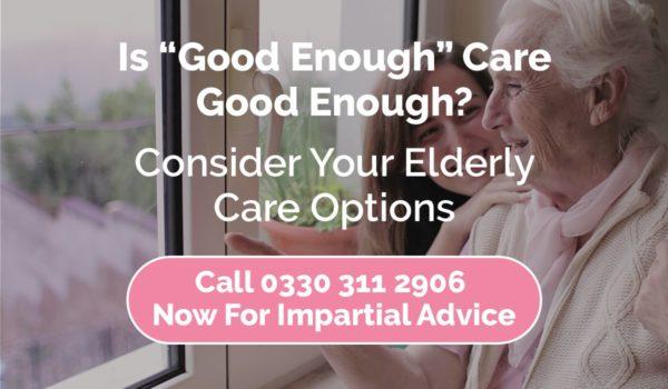 good elderly care