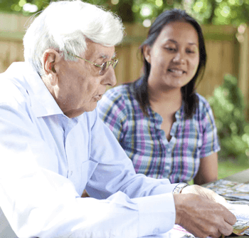 care at home for older people