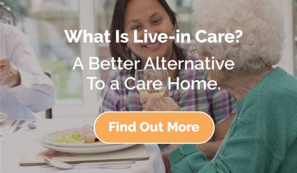 what is live in care