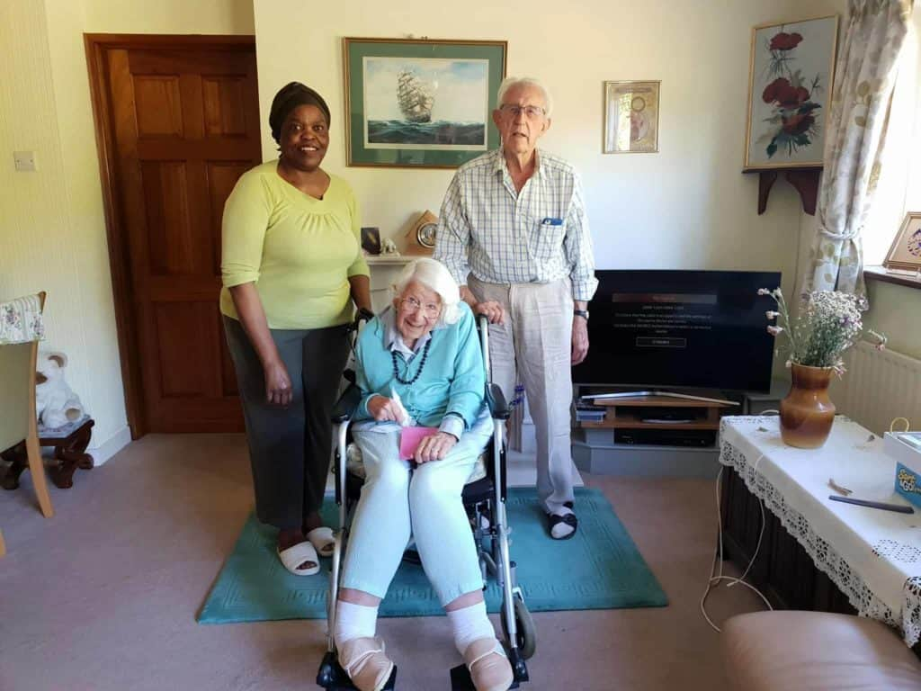 Joana - a live-in carer with Dennis and Pat